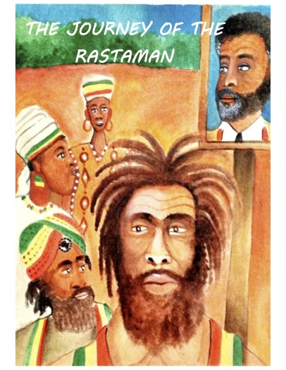 JOURNEY OF THE RASTAMAN CHILDREN BOOK cover