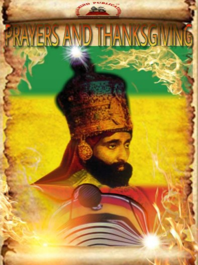 prayers and thanksgiving front cover